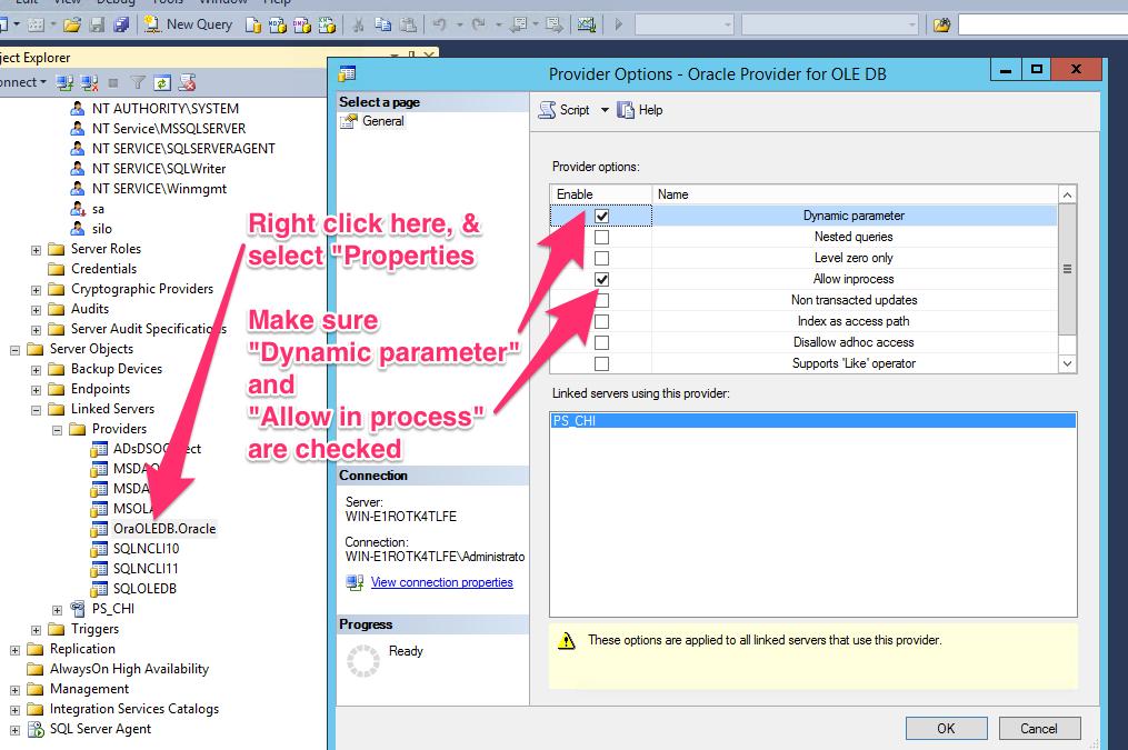 Linking PowerSchool to SQL Server